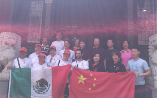 Mexico y China unidos por el Tai Chi